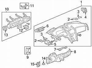 Chevrolet Traverse Dashboard Panel  Instrument  Make