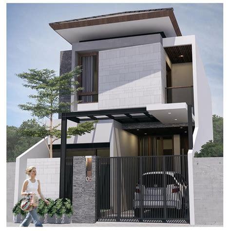foto desain rumah minimalis modern  lantai arsitektur