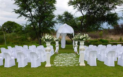 garden wedding venue  bulawayo mystique