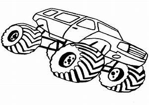 Ausmalbilder Kostenlos Monster Truck 14 Kinder