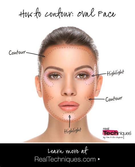 real tips face shape contour guide contour makeup face shape contour oval face makeup