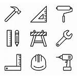 Construction Material Icons Tools Icon Materials Building