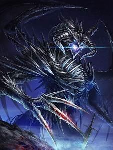 Dark Fantasy Art Dragons | Dark Dragon by Ze-l on ...
