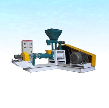 floating fish feed pellet extruder dry type