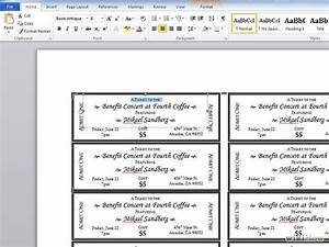 7 best images of create your own ticket templates event With create your own tickets template
