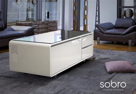 To put the sobro smart coffee table into production, storebound is raising funds through indiegogo. Sobro Smart Coffee Table is Now Available on Amazon for $1299