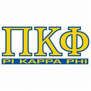 greek store pi kappa phi letters over name decal greek With pi kappa phi letters