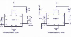 Bd5460 Class D Amplifier Circuit