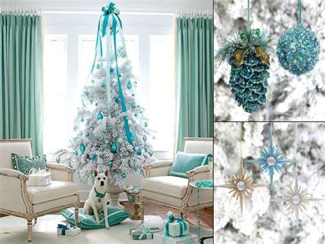 White Xmas Tree Decorations, Purple With White Christmas