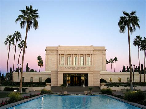 mesa az mesa arizona lds mormon temple district