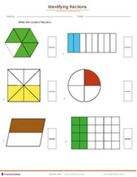 fraction worksheets for children from kindergarten to 7th grades math 4 children plus