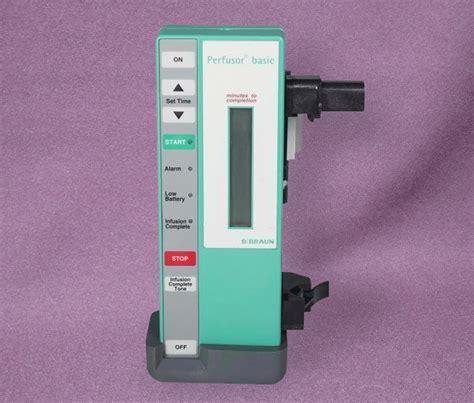 B Braun Perfusor Basic - Avobus Medical Equipment