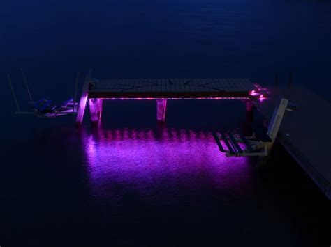 dock lighting accent led lighting