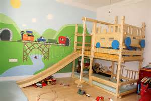 rutsche für kinderzimmer zum rutschen billi bolli kindermöbel