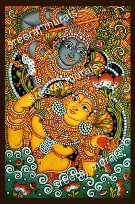 kerala mural artists 148 best images about indian kerala mural paintings