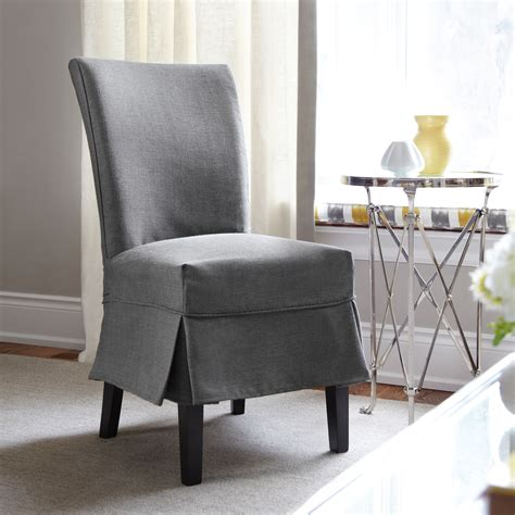 Slipcovers For Dining Room Chairs With Arms  Home Design