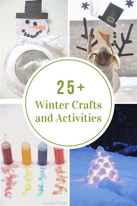 winter crafts  activities  kids  idea room