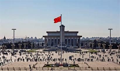 Beijing Smog China Thick Landmarks Pollution Air