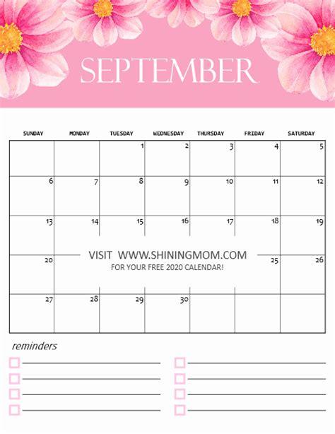 calendar  printable  cute monthly designs  love