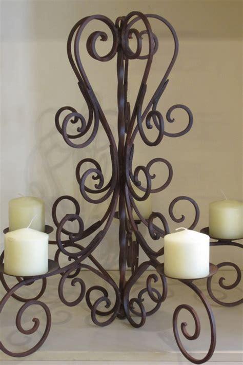 wrought iron mexican candelabra rustic artfurniture