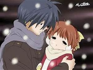 Post a pic. of an anime character holding a friend/enemy's ...