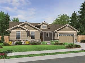 craftsman style house plans one story the avondale craftsman style ranch house plan with accents