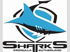Cronulla Sharks Primary Logo 1998 A blue and black