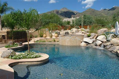natural rock pools natural pools premier pool builder