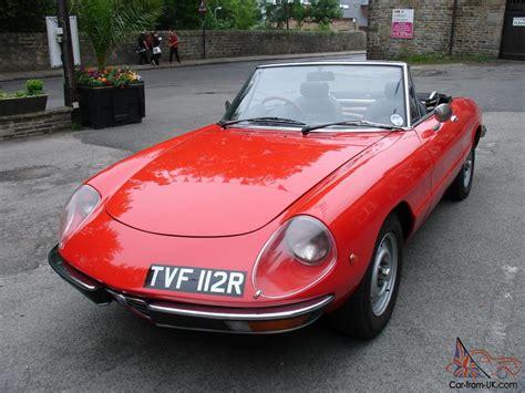 Alfa Romeo Spider S2 2ltr