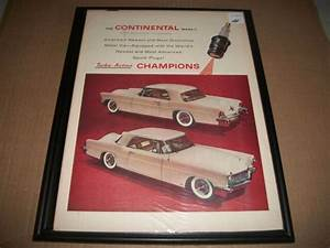 1956 Lincoln Continental Mk Iii    Champion Spark Plugs