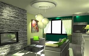 idee deco interieur maison neuve acto batiment With idee de decoration interieur