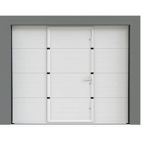 porte de garage sectionnelle avec portillon porte sectionnelle avec portillon