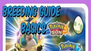 Pokemon Sun And Moon Breeding Guide - Part 1