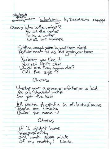 Daniel's Rap Lyrics