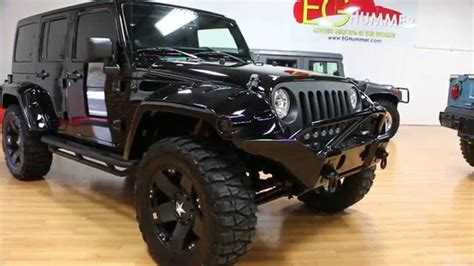Review Of Lifted 2013 Jeep Wrangler Unlimited Show Truck