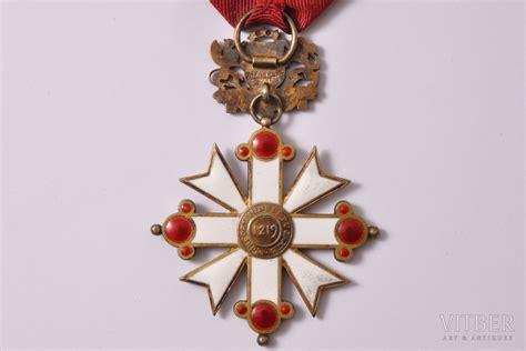 Ordenis, Viestura ordenis, 5. pakāpe, sudrabs, Latvija, 1938-1940 g., 60.6 x 43.5 mm, meistars V ...