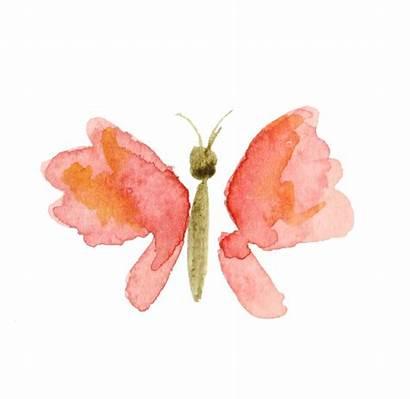 Watercolor Clipart Butterfly Clip Transparent Calendar Desktop