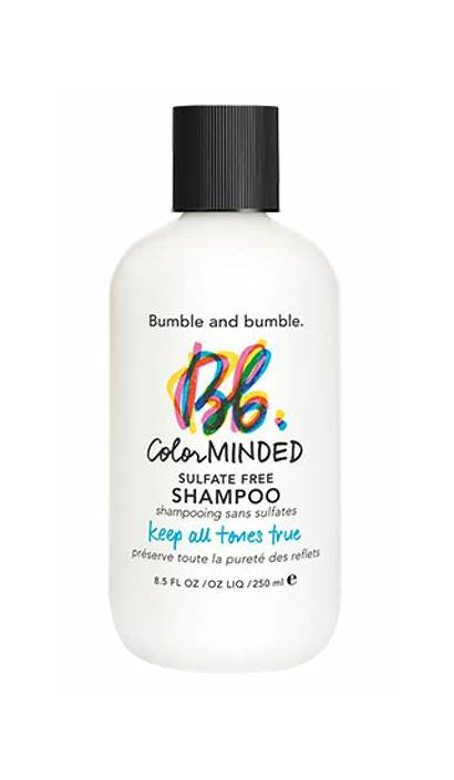 Shampoo Bumble Minded Sulfate Hair Highlighted Scalp