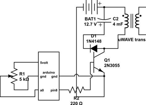 Arduino Pulse Transistor Power Maximum Electrical
