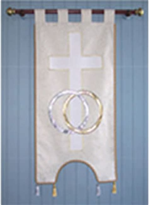 Wedding Banner by Mpc Banners Mendocino Presbyterian Church