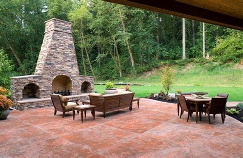 stamped concrete patio cost concrete patios