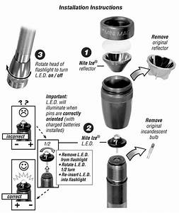 Torch Light Led Rechargeable 8552  Mini Maglite Aa Change