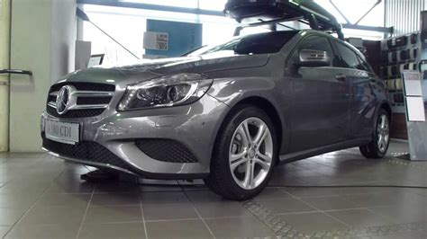 Genuine mercedes benz 400l black roof top box opens both sides a0008400000. 2013 Mercedes A 180 CDI / Original Mercedes Roof Box 400 ...