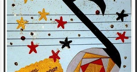 les loisirs de rachel carte note de musique iris folding