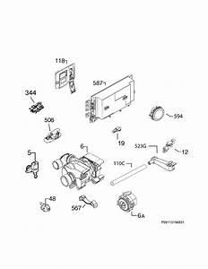 Electrolux Ew24id80qs2a Dishwasher Parts