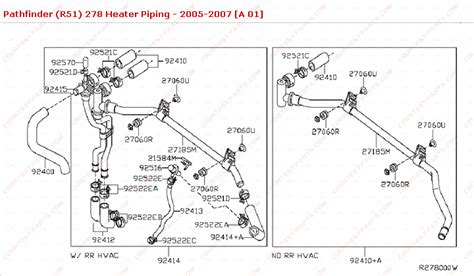 How Fix Heater Piping For Rear Nipple Nissan