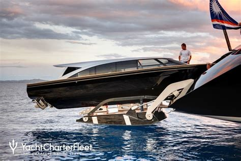Vertigo Sailboat by Vertigo Yacht Charter Price Alloy Yachts Luxury Yacht