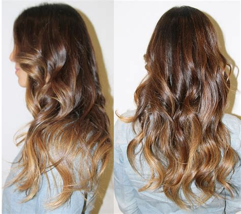 beautiful brunette ombre neil george