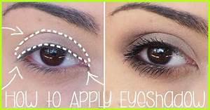 How To Apply Eyeshadow Base Lid Crease Line