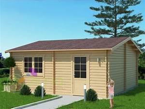 Garage Bois 20m2 : garage en bois 600x600 44mm 36m ~ Melissatoandfro.com Idées de Décoration